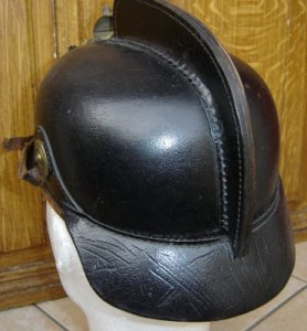 photo de dos casque 1920 cuir
