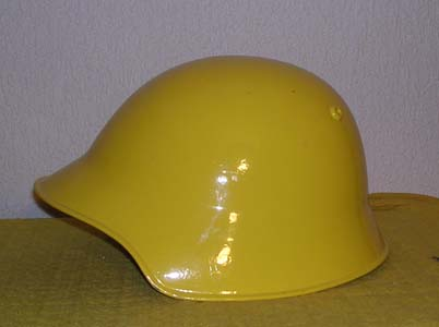 photo de profil du casque suisse tole jaune