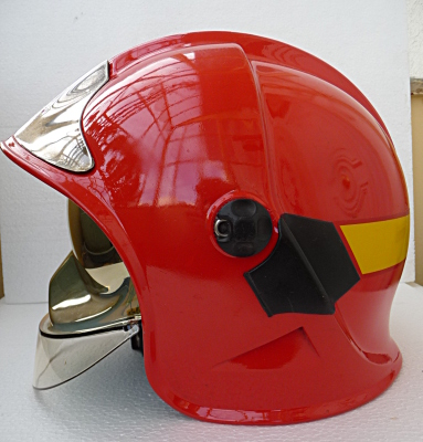 photo de profil du casque f1 italie usine eni