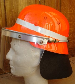 photo de profil du casque orange din 14940