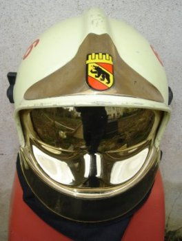 photo de face du casque gallet berne