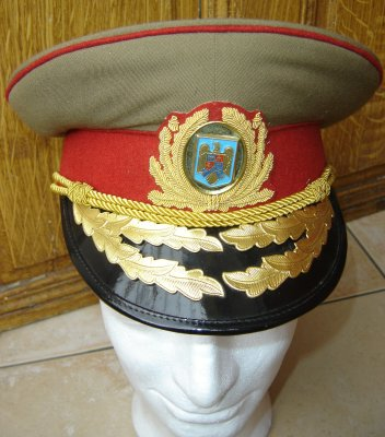 photo casquette general roumanie
