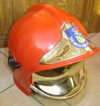 photo de face du casque gallet canaries
